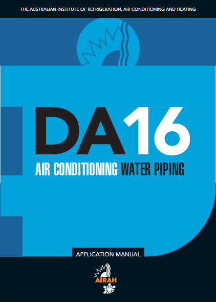 DA16 Air Conditioning Water Piping
