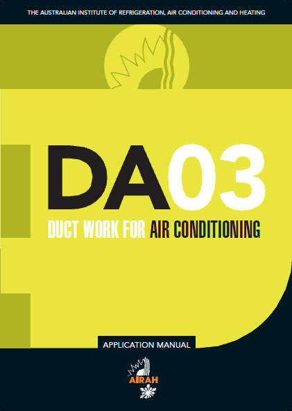 DA03 Ductwork for Air Conditioning