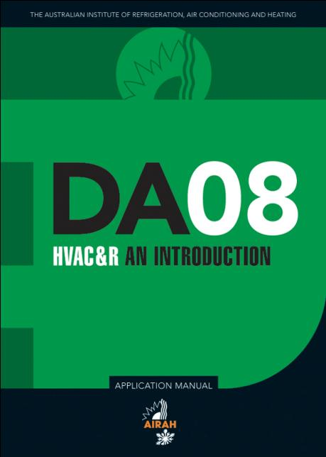 DA08 HVAC&R an introduction