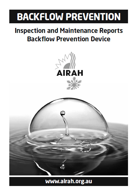Backflow Inspection Booklets