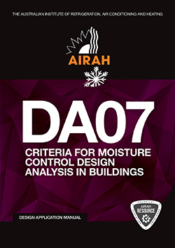 DA07 Criteria for Moisture Control Design Analysis